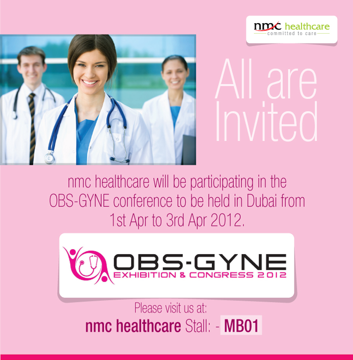 Invitation to visit nmc healthcare stall no mb01 in obs gyne invitation to visit nmc healthcare stall no mb01 in obs gyne exhibition 2012 experts in medical care stopboris Choice Image